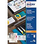 Biglietti da visita Avery Quick&Clean A4+ opaca 200 g