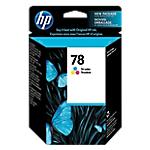 Cartuccia inchiostro HP originale 78 3 colori c6578d