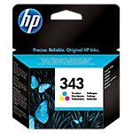 Cartuccia inchiostro HP originale 343 3 colori c8766ee