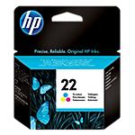Cartuccia inchiostro HP originale 22 3 colori c9352ae
