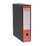 Registratore Viking rosso 2 anelli dorso 80 mm 35 x 28,5 cm