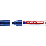 Marcatore permanente edding 800 punta a scalpello 4 12 mm blu