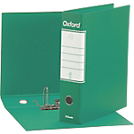 Registratore Oxford commerciale 23x30 cm dorso 8 cm colore verde