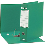 Registratore Esselte Oxford Protocollo verde 2 anelli 80 mm 34 x 28,5 cm