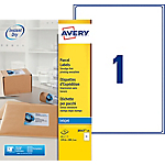 Etichette per pacchi AVERY Zweckform QuickDry bianco 25 etichette 25 fogli