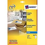 Etichette per pacchi Avery Zweckform QuickDry™ bianco 100 etichette 25 fogli