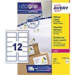 Etichette per indirizzi Avery Zweckform L7164 100 bianco 63,5 (l) x 72 (h) mm 1200 etichette 100 fogli