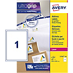 Etichette per pacchi Avery Zweckform QuickPEEL™ BlockOut™ bianco 199,6 (l) x 289,1 (h) mm 100 etichette