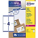 Etichette per pacchi Avery Zweckform QuickPEEL BlockOut bianco 99,1 (l) x 139 (h) mm 400 etichette 100 fogli