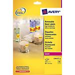 Etichette Mini Avery Zweckform L7553 trasparente 22 (l) x 12,7 (h) mm 1200 etichette 25 fogli