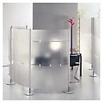 Pannelli Finitura Opaline trasparente 172,4 (h) x 99,8 (l) cm 3 pezzi