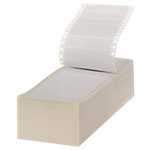 Etichette in modulo continuo Office Depot bianco 6000 etichette 6.000 fogli