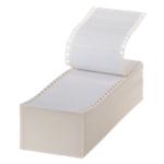 Etichette Office Depot In modulo continuo bianco 4000 etichette 4.000 fogli