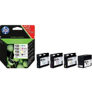 Pack 4 cartouches HP - Office Depot