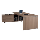 Ensemble bureau + console Flora - Office Depot