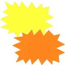Éclatés jaune et orange - Office depot