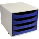 Modules de classement 4 tiroirs - Office Depot